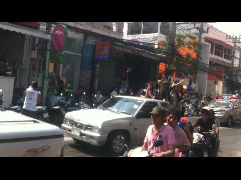songkran in thailand - phuket-patong