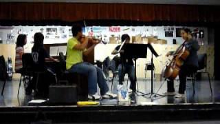 Yiruma - Kiss the Rain (piano quartet version)