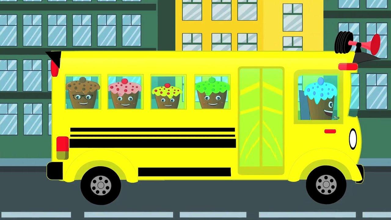 Wheels On The Bus | Nursery Rhyme For Kids - YouTube