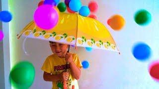 Senya and A Lot of Color Balls