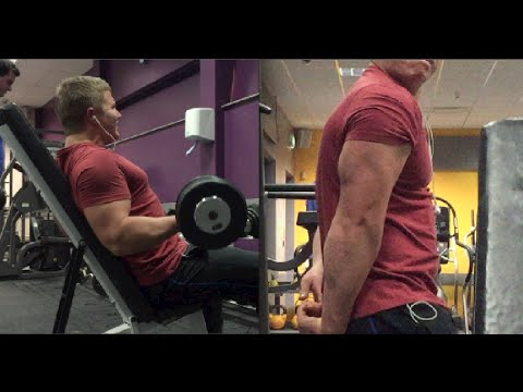 Biceps And Triceps Workout: 56 Sets - Doing Whatever It Takes To Get Big Arms