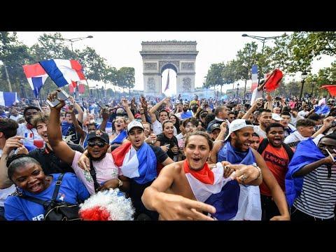 استعدادات شعبية في الشانزليزيه لاستقبال المنتخب الفرنسي الفائز بكأس العالم 2018  - نشر قبل 8 ساعة