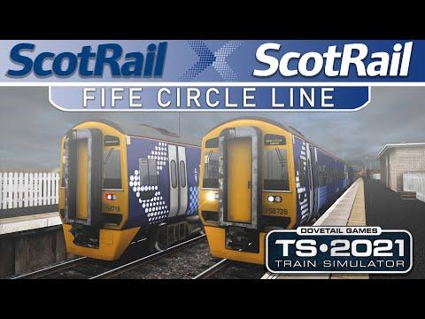 Fife Circle Line Route | Class 158 | Time-Lapse - Train Simulator 2021 |