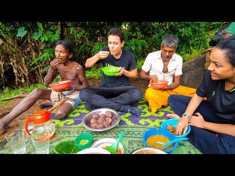 Unseen Food in Sri Lanka - INDIGENOUS VEDDA TRIBE!