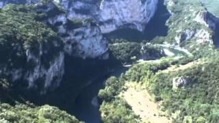 Lac du Salagou, Salasc, source de la Buèges, gorges de l'Ardèche, source de la Loire