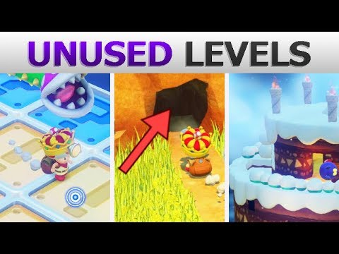 Captain Toad has dozens of unused stages, and you now can see them all