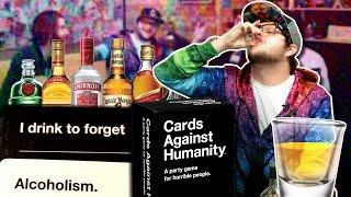 DRUNK CARDS AGAINST HUMANITY! w/ Adam, Preston, Ty and Quentin!