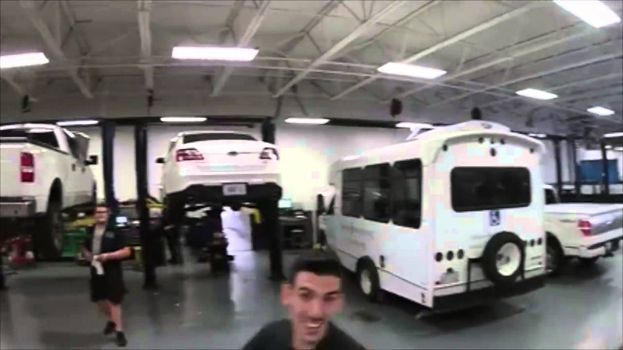 Beechmont ford service department drone footage