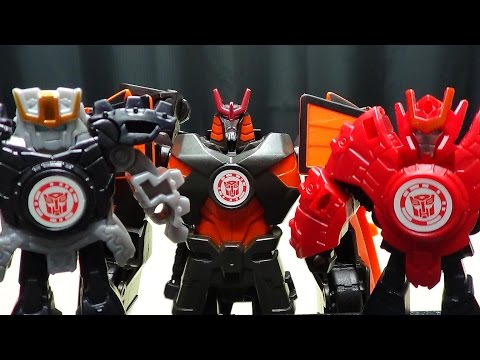 Robots in Disguise 2015 Deployers DRIFT: EmGo's Transformers Reviews N' Stuff