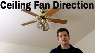 Ceiling Fan Direction