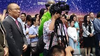 Khi HLV 'thần thánh' của U23 Việt Nam Park Hang Seo tham dự sự kiện