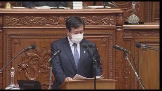 YouTube動画:衆議院本会議菅内閣不信任決議案賛成討論 立憲民主党 原口一博 2021/06/15