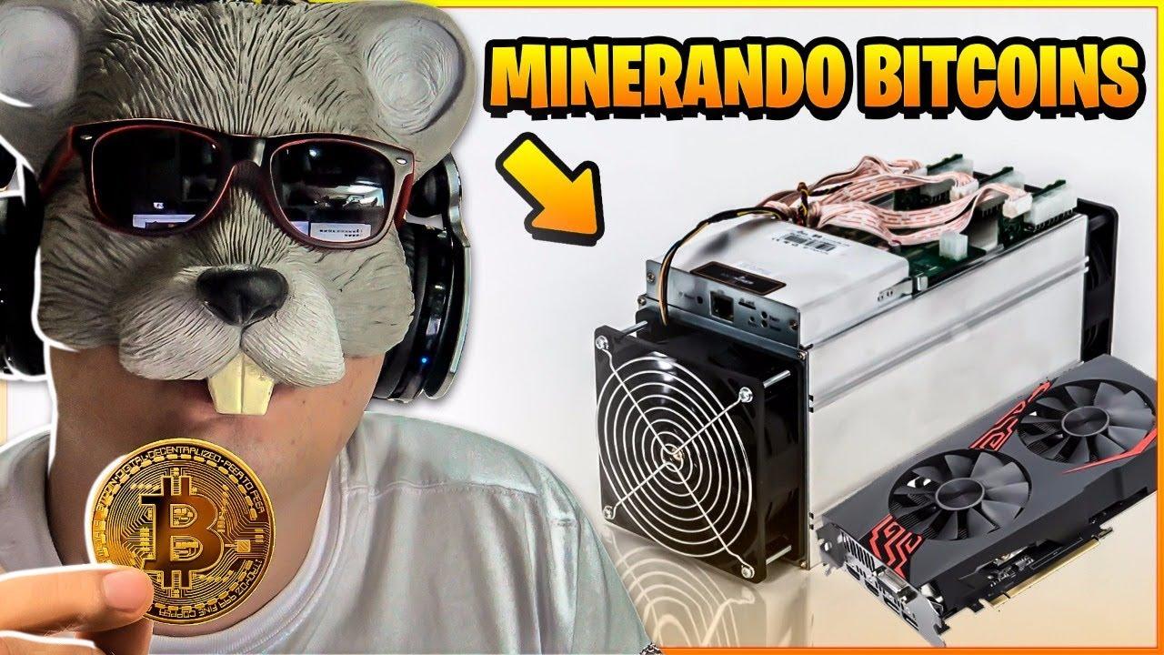 como farmar bitcoin
