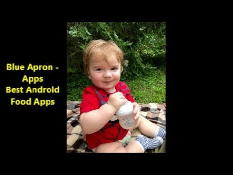Best Android Food Apps 2020. Blue Apron