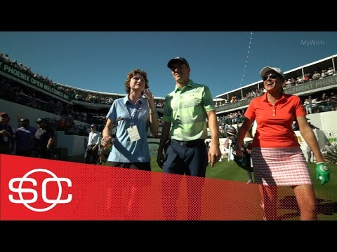 My Wish: Morgan's wish to meet her golfing idol, Jordan Spieth, comes true | SportsCenter | ESPN