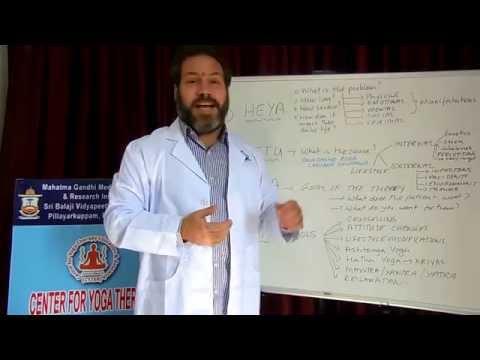 A template for the clinical practice of Yoga Chikitsa by Dr Ananda Balayogi Bhavanani