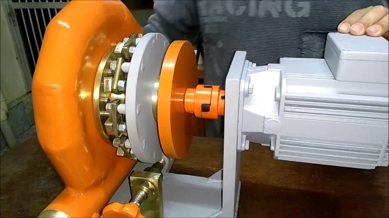 75eea1d97ca Gerando energia através da força da água (Turbina Francis) - YouTube