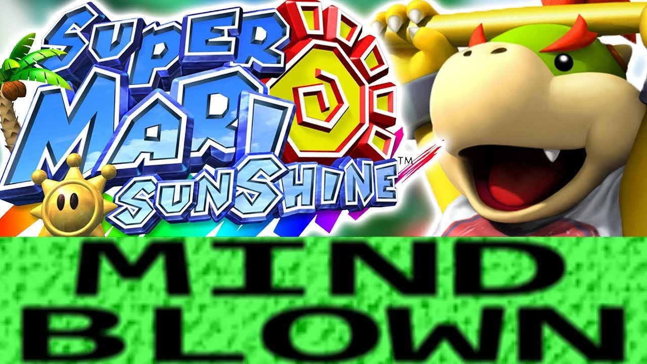How Super Mario Sunshine is Mind Blowing!