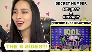 SECRET NUMBER (시크릿넘버) - Holiday (Idol Radio & Dance Prac…