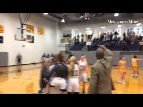 Destiny Curry's buzzer beater for Springside Chestnut Hill Academy. Should it have counted?