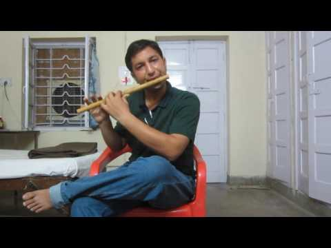 Flute Saathiya tune kya kiya, Hava ke zonke aaj mausamo se ruth gay- first attempt to record