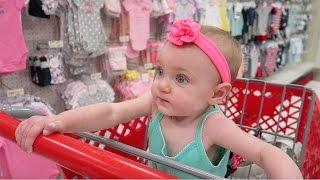 BABY SHOPS AT TARGET
