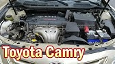 Fuse Box Location And Diagrams Toyota Camry Xv40 2007 2011 Youtube