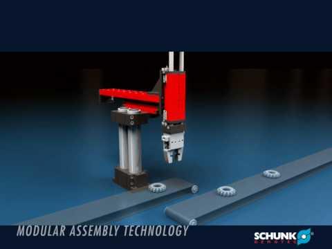 SCHUNK Gemotec Modular Assembly Systems