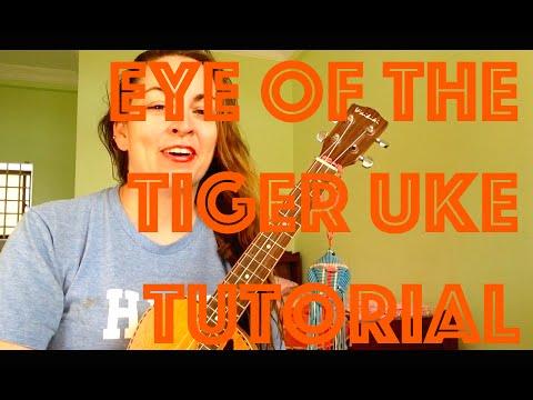 Eye of the Tiger Ukulele Tutorial Survivor