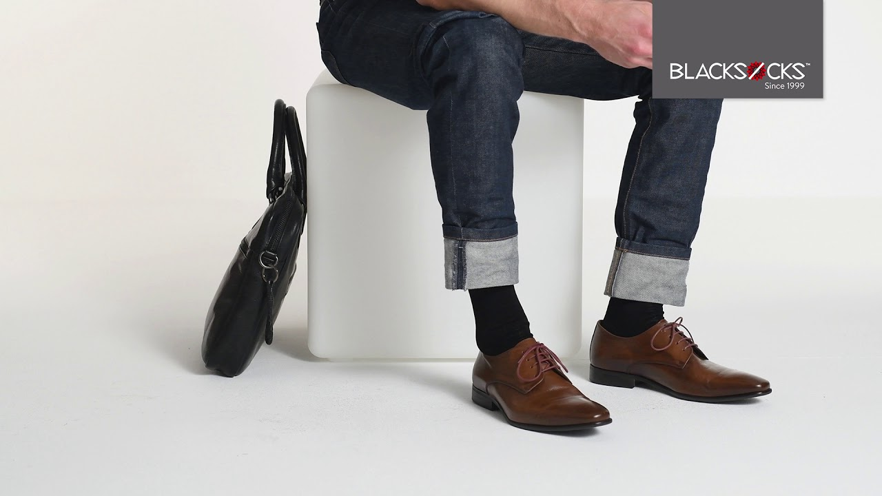Business light Socken in Schwarz: leichtfüssig im Büroalltag | BLACKSOCKS
