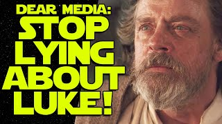 Toxic Star Wars Fandom: Media LIES About What Mark Hamill Said About Fans!