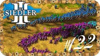 DIE SIEDLER 3 [LPT]#122 Auf in die Schlacht [Map 8ter Heulsusen Teil 3/3]