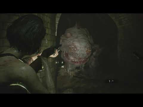 Resident Evil 3 - Sewers: Reach Office: Hunter Y Fight, Note, MGL Grenade Launcher Location (2020)