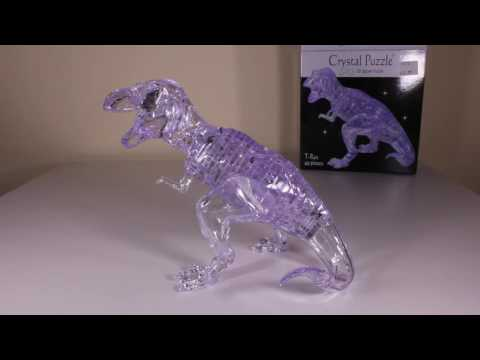 Tyrannosaurus Crystal Puzzle Review!