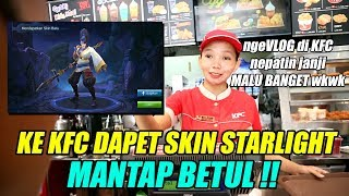 CARA DAPET SKIN STARLIGHT LEWAT EVENT KFC !! - Mobile Legends Event