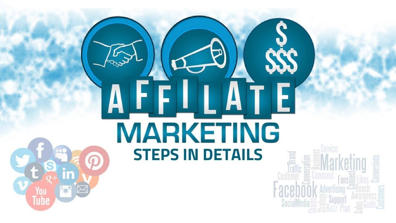 Affiliate Marketing Steps In Details - YouTube