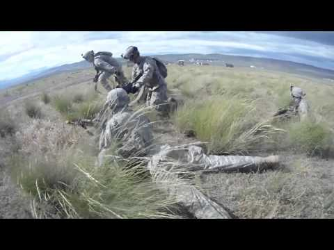 Bold Co. 1-161 Infantry Regiment Air Assault Exercise