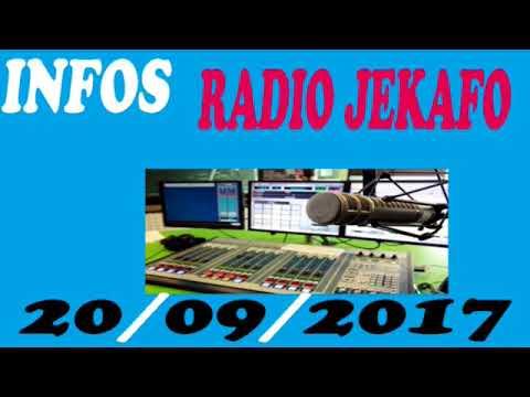 Radio Jekafo, 20/09/2017