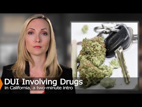 This video discuss DUI involving drugs under vehicle code 23152(e).