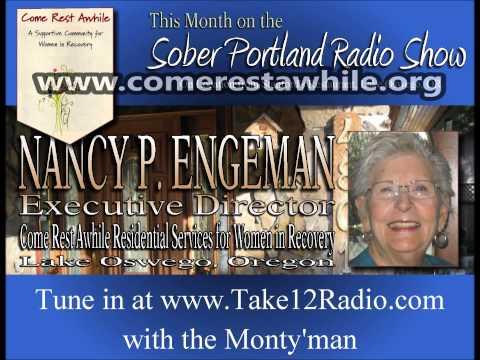 Sober Portland Radio Show Guest Nancy Engeman
