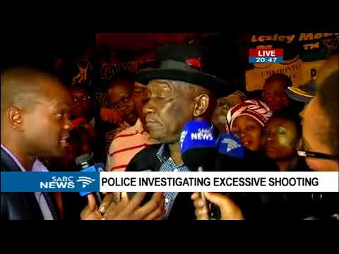 Police Minister Cele briefs media post excessive shooting outside Mama Winnie's home on Friday night