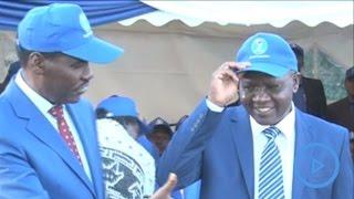 Meru Governor Peter Munya picks his running mate