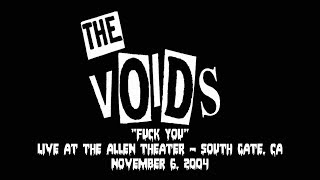 Watch Voids Fuck You video