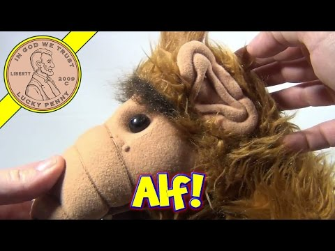 Alf The TV Sitcom Show - Large Stuffed Plush Animal Toy, 1986
