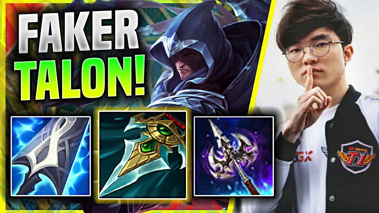 FAKER BRINGS BACK HIS TALON MID! - T1 Faker Plays Talon Mid vs Sylas! | KR SoloQ Patch 11.5