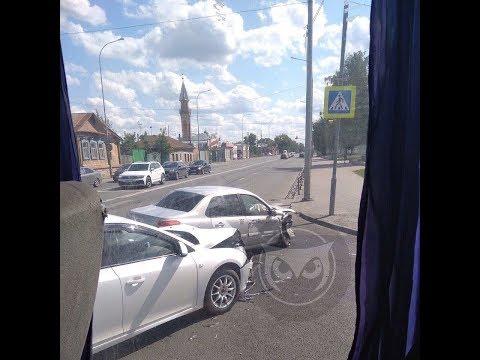 Шедевральный маневр таксиста в центре Пензы