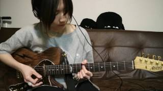 """tricot - How to play """"DeDeDe"""" on Side Guitar 中嶋イッキュウ 動画 30"""