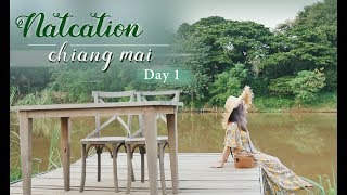 Vlog|跟我一起來清邁Day. 1 - 飯店, 市區, 咖啡廳|Natcation ...