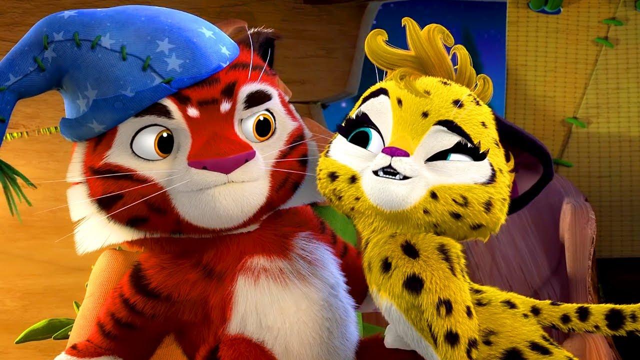 🐾 Лео и Тиг 🐾 – Серия 61 – Дух ночи | Мультик для детей про животных