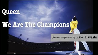Queen - We Are The Champions (The most STUNNING piano arrangement!!!) thumbnail